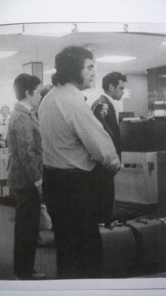 ASIO photo: Chicka leaving to go to China, Oct 1972
