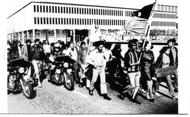 Tent  Embassy Demonstration, Canberra 1972