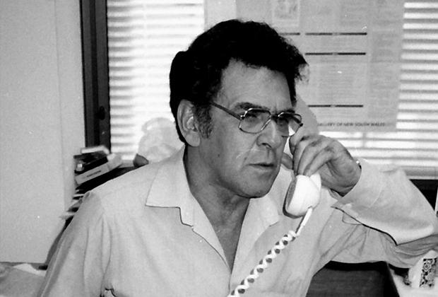 Chairman Chicka Dixon at the Aboriginal Arts Board 1984